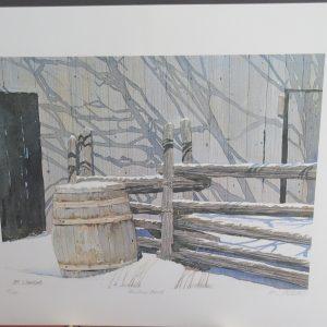 Abandoned Barrels