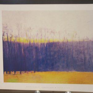 Gray Violet Landscape