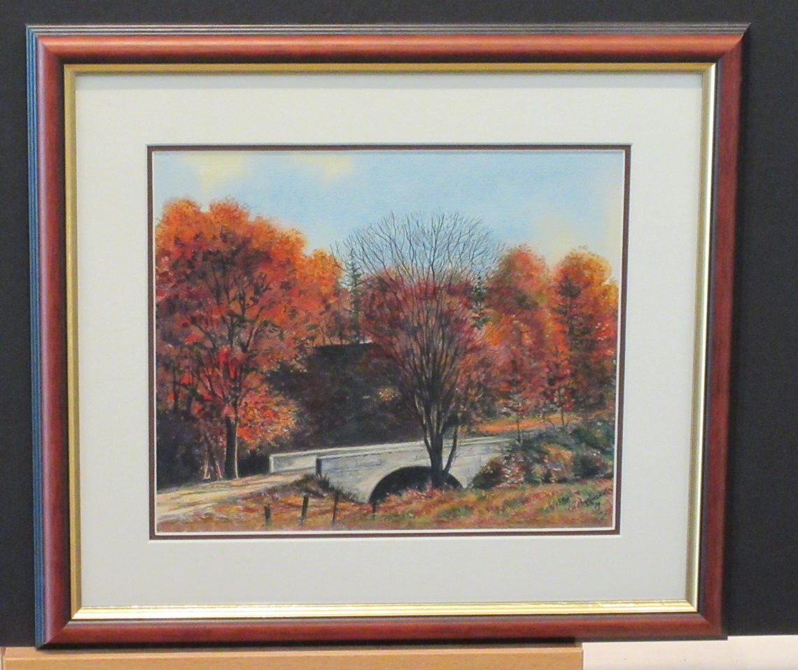 Autumn Come to Echo Bridge