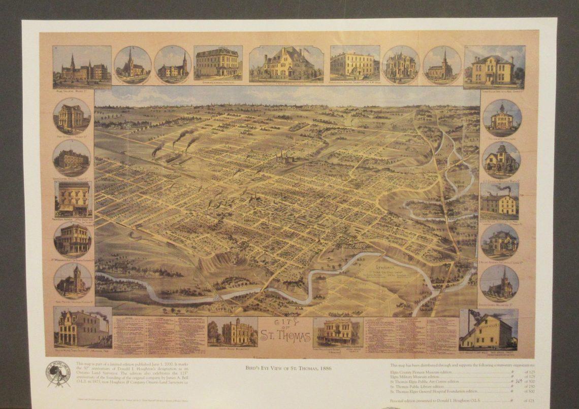 St. Thomas Map 1886