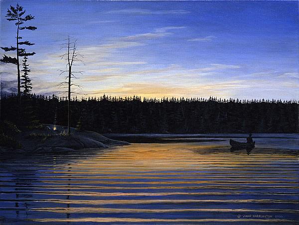 Sunset on Canoe Lake